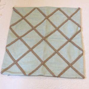 Mint  Green décorative cushion cover 19 x 19,5